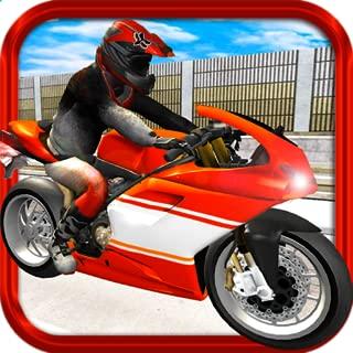 Freeway Motorbike Flame Angel - Burning Bolt of Smoking Tread Free