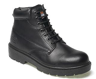 """Dickies FA23333 Brodequins de sécurité""""Antrim"""" S1-P Taille 48 noir,"""