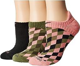 Nike - Dri-Fit Cushion Graphic No Show Training Socks 3-Pair Pack