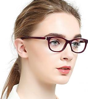 cfebf3e15e OCCI CHIARI Women Casual Eyewear Frames Non-prescription Clear Lens  Eyeglasses