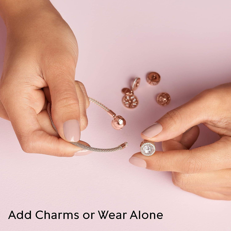 """Pandora Jewelry Mesh Pandora Rose Bracelet, 7.5"""": Jewelry"""