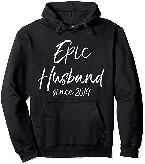 Matching 1st Anniversary Couple Gift Epic Husband Since 2019 Sweat à Capuche