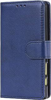 NEXCURIO Sony Xperia Z5コンパクト / Z5 Compact/docomo SO-02H ケース 手帳型 PU レザーケース 耐衝撃 カード収納 スタンド機能 マグネット式 エクスぺリアZ5 Compact ケース 携帯カバー おしゃれ - NEKTU20293 青