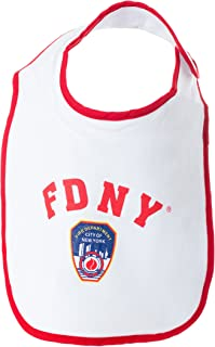 Fire Department of New York City Baby Bib - Officially Licensed FDNY Gift
