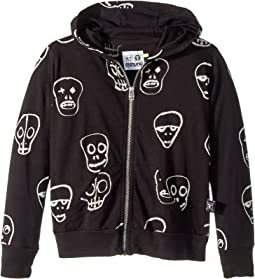 Nununu Skull Mask Hoodie (Toddler/Little Kids)