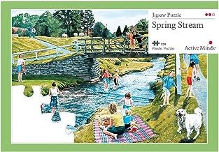 Active Minds 35 Piece Spring Stream Jigsaw Puzzle   Specialist Alzheimer's/Dementia Activities & Games