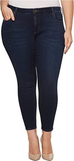 KUT from the Kloth Plus Size Ankle Skinny in Approve