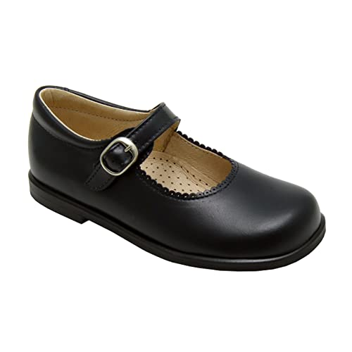 6bd605cb4b074 Navy School Shoes: Amazon.co.uk