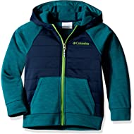 Columbia Youth Boys S'more Adventure Hybrid Hoodie, Water Resistant, Comfort Stretch
