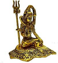 Vrindavan Bazaar Golden Shiv ji Meditating