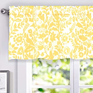 Amazon.com: Yellow - Valances / Tiers, Swags & Valances ...