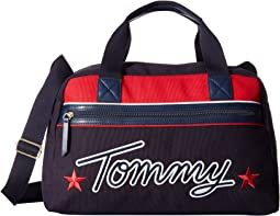 Tommy Embroidered Weekender