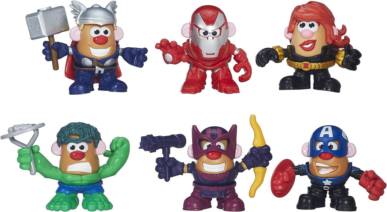 Playskool Marvel Mixable, Mashable Heroes  Super Hero Assembly Pack Mr. Potato Head (944781)