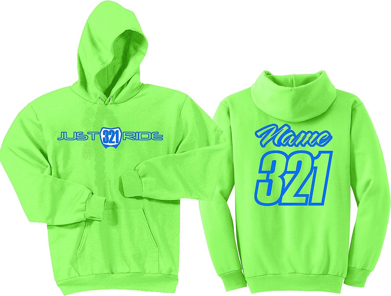 Just Ride Motocross Hoodie Sweatshirt Custom Person Plate overseas Number Direct store