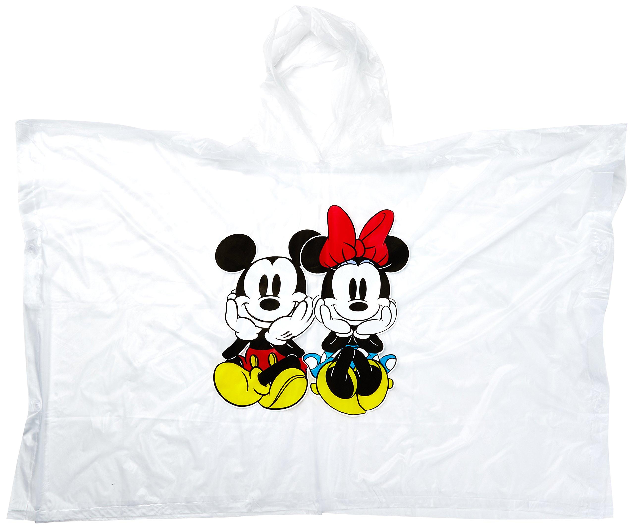 Disney 2 Pack Mickey Sitting Ponchos