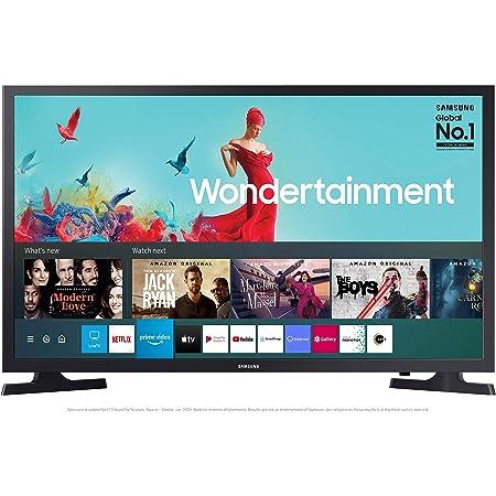 Samsung 80 cm (32 inches) Wondertainment Series HD Ready LED Smart TV UA32TE40AAKBXL (Titan Gray) (2021 model)