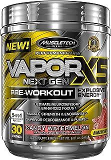 Pre Workout Powder | MuscleTech Vapor X5 | PreWorkout Energy Powder | Pre Workout for Men & Women | Creatine as Muscle Bui...
