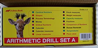 A Beka Arithmetic Drill Set A FLASHCARDS