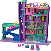 Polly Pocket Pollyville Le Centre Commercial, voiture, 2 mini-figurines Polly et Lila,..