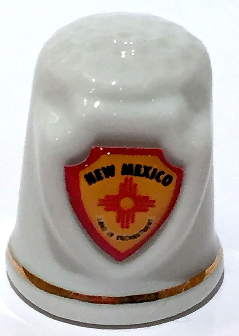 New Mexico State Souvenir Collectible Lpco Thimble