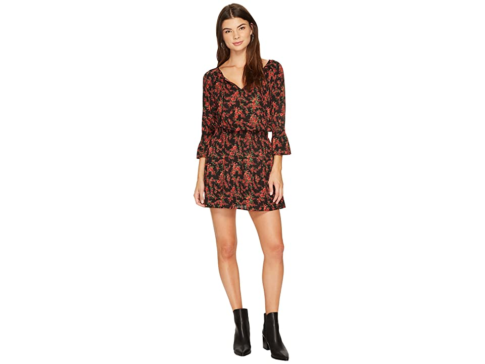 Jack by BB Dakota Mackay Printed Dress (Black) Women