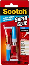 Scotch AD121 Advanced Formula Super Glue Liquid, Transparent