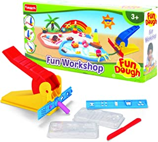 FUNSKOOL-Fundough Fun Work Shop, Multi Colour