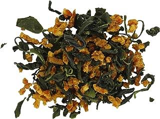 Teas Unique 2019 Korean Jeju Island Organic Green Tea with Mandarin Orange, 100g