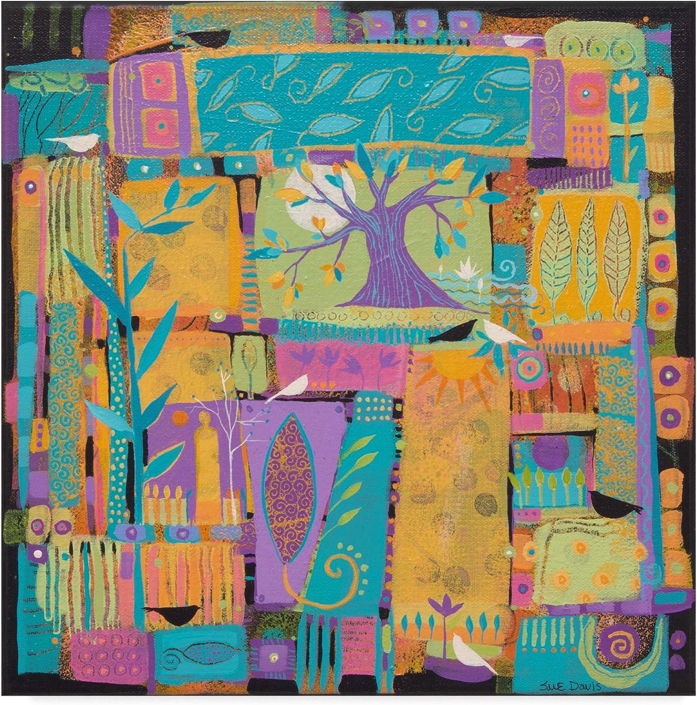 Trademark Fine Art Tell Me A Story by Sue Davis, 14x14