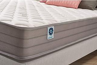 Naturalex | Air Latex | Colchón 135x190 Cm Combinación Confort y Transpirabilidad | Sistema Blue-Látex Regenerador Muscular | 7 Zonas Diferenciadas De Confort | Hipoalergénico | OekoTex
