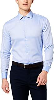Van Heusen Men's Slim Fit Shirt Herringbone