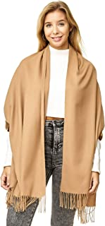 JillyMode XXL Damen Schal Winter Dick Warm und weich viele schöne Mustern