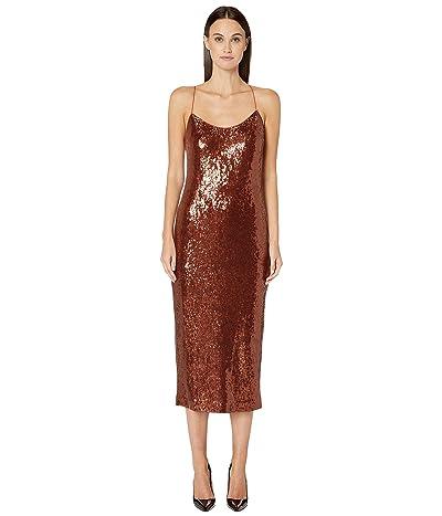 Rachel Zoe Sistine Dress (Dark Amber) Women