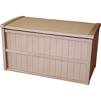 屋外収納 組立式 収納庫 200L 日本製 ベージュ