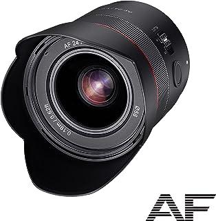 SAMYANG 23071 AF 24 mm F1,8 FE do Sony E-Mount pełnoklatkowy, APS-C I ultralekki obiektyw szerokokątny 83,7°, szybki autof...