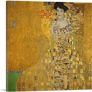 ARTCANVAS Portrat der Adele Bloch-Bauer I 1907 Canvas Art Print by Gustav Klimt - 36