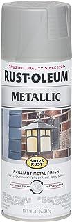 Rust-Oleum 7277830 Stops Rust PAINT, 11 oz, Matte Nickel
