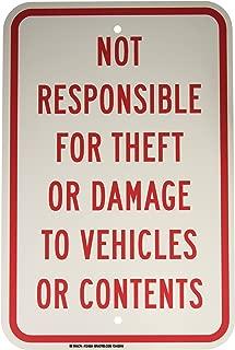 Brady 124504 Traffic Control Sign, Legend