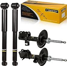 Maxorber Front Rear Full Set Shocks Struts Absorber Kit Compatible with Nissan Sentra 2007 2008 2009 2010 Shock Absorber 333604 333605 341659