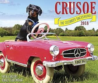 Crusoe the Celebrity Dachshund 2018 Box Calendar