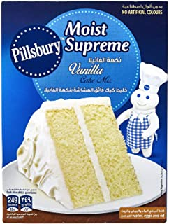 Pillsbury Vanilla Cake Mix - 485 gm