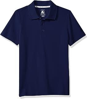 Boys' Short Sleeve Performance Pique Polo, Amazon Exclusive, Amazon Exclusive