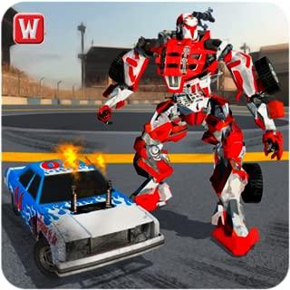 Super Robot Car Battle Sim