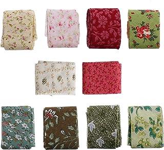 Fita de acabamento de algodão Exceart com 10 peças, fita de costura para costura, fita de algodão sortida, fita de costura...