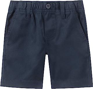 Nautica Boys' School Uniform Flat Front Twill Short