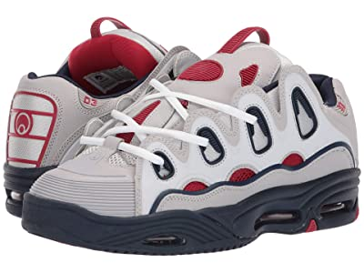 Osiris D3 2001 (Light Grey/Navy) Men