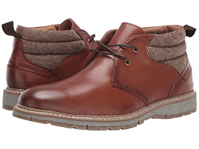 Stacy Adams Grantley Plain Toe Chukka Boot (Pecan) Men