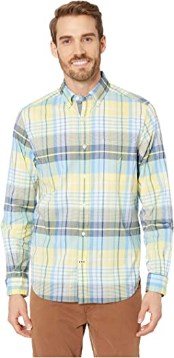 Long Sleeve Casual Warm Plaid Shirt