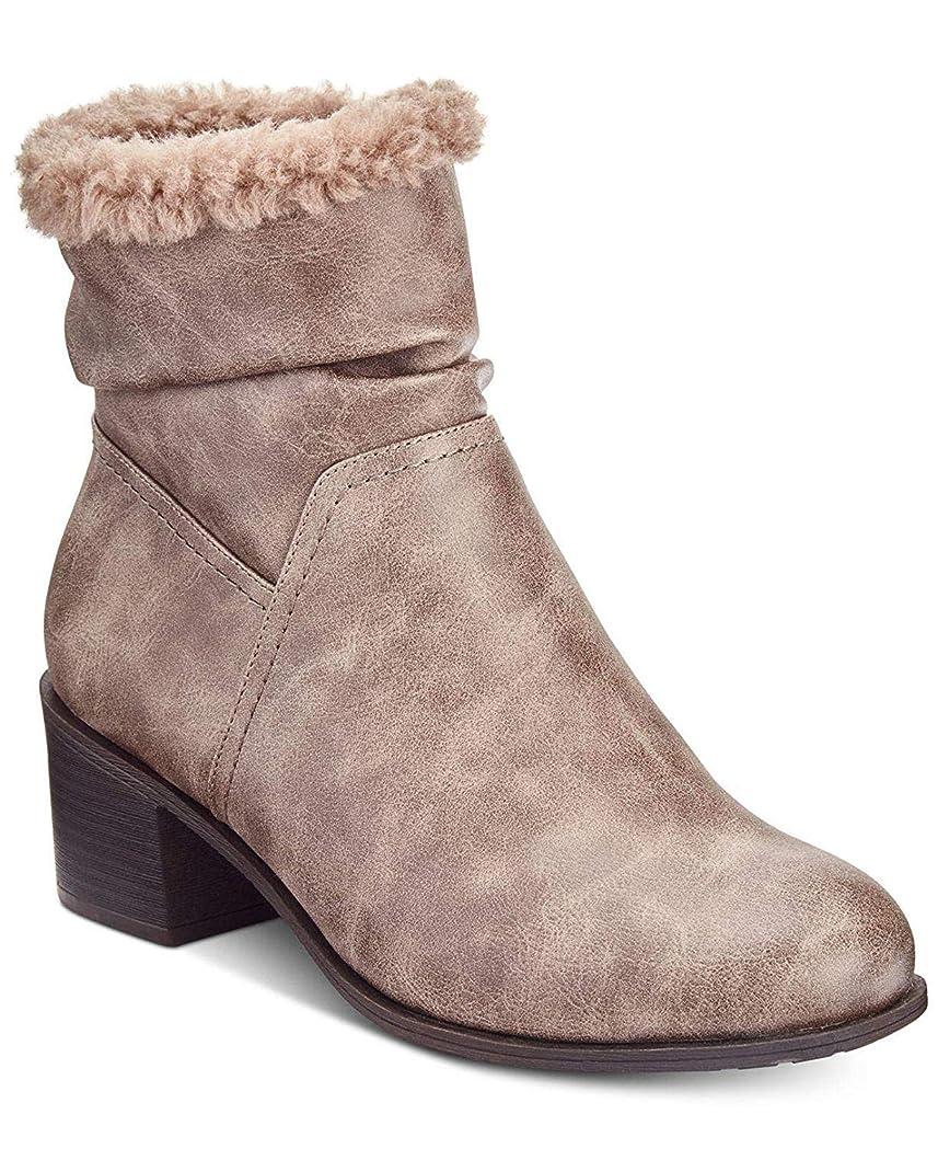 動的散髪ダンプ[Style & Co.] Womens Penelopyp Closed Toe Ankle Cold Weather Boots [並行輸入品]