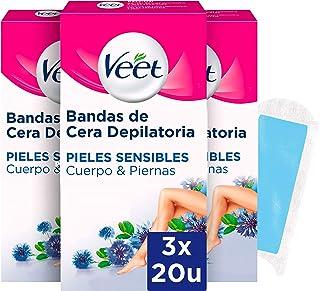 Veet Bandas de Cera Fria para Depilación de Cuerpo y